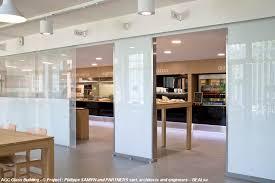 verre pour bureau cloisons en verre pour le bureau glastetik