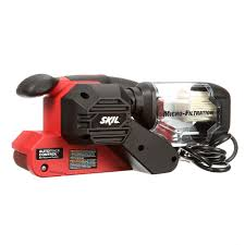 Skil Flooring Saw Home Depot by Skil 6 Amp Corded Electric 3 In X 18 In Belt Sander Kit With