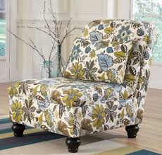 Living Room Floral Accent Chair - Floral accent chairs living room