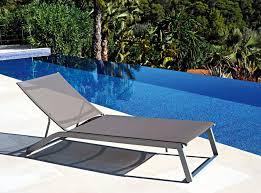 Patio Furniture Long Beach by Contemporary Chaise Longue Aluminum Patio Pool Long Beach