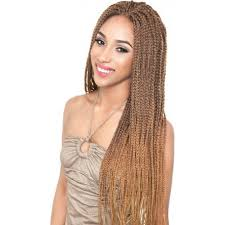 Light Brown Box Braids Isis Collection Red Carpet Premiere Braided Synthetic Lace Front