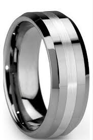 mens wedding bands titanium vs tungsten wedding rings tungsten carbide rings pros and cons black