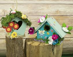 fairy garden birdhouse craft ideas little crafty bugs blog