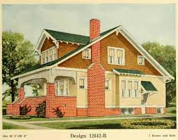 craftsman style house characteristics this set of bungalows was published in a book titles