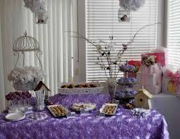 lavender baby shower decorations lavender baby bird shower baby shower lavender baby bird shower
