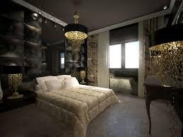 chambre baroque fille chic baroque mural coucher pas moderne chambres tendance deco noir