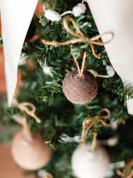 craft yarn ornaments hgtv