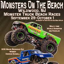 monster truck jam nj monsters on the beach wildwood nj monster truck show