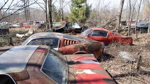 Classic Ford Truck Junk Yards - michigan junkyard turns up some buried muscle car treasure