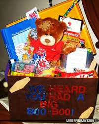 feel better soon gift basket this get well soon gift basket includes lots of treats and