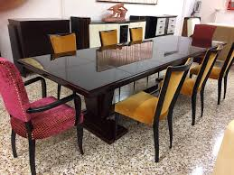 vintage large french art deco dining table 1940s for sale at pamono