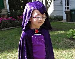 Teen Titans Halloween Costumes Raven Teen Titan Etsy
