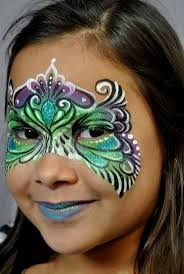 Beautiful Painting Designs by 142 Best Mardi Gras Facepaint Images On Pinterest Face Paintings
