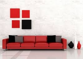 black and red interior design black white and red combination in