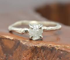 1 carat engagement rings 1 carat diamond branch engagement ring 14k white gold point