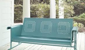 bench walmart patio glider chair stunning outdoor glider bench