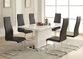 glass top dining room set high end formal dining room sets modern round dining room table