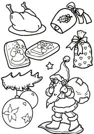 santa claus christmas coloring pages for kids christmas coloring