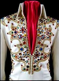 elvis jumpsuit 15 nail king of spades jumpsuit rex martin s elvis moments in