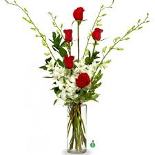 Bouquet Of Flowers In Vase Https Cdn Bloomnation Com Media Catalog Product