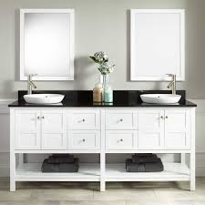 Floating Vanity Ikea Bathroom Minimalist White Ikea Double Vanity With Round Sink For