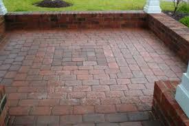 Brick Paver Patio Design Patio Designs With Concrete Pavers