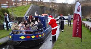 santa special trips at chesterfield canal destination chesterfield