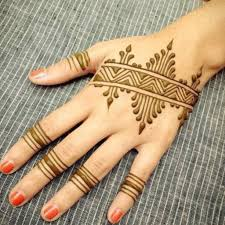 easy and simple mehndi designs for beginners