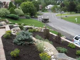 pictures front yard slope landscaping home decorationing ideas