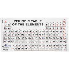 periodic table large size science chemistry periodic tables nasco