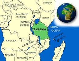 Map Of Tanzania Tanzania Facts Culture Recipes Language Government Eating