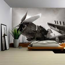 wall26 com art prints framed art canvas prints greeting wall26 world war ii era navy fighter plane with folded wings removable wall mural self adhesive large wallpaper 100x144 inches