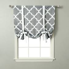 Tie Up Curtains Tie Up Shade No Sew Tie Up Shades The Home Brown Tie Up Curtains
