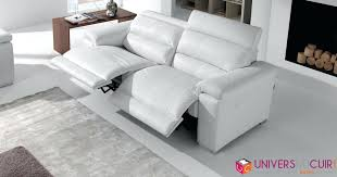 canap 2 places relax articles with canape 2 places relax en microfibre hernani tag