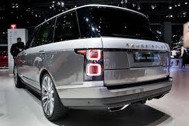 range rover svautobiography 2018 range rover svautobiography long wheelbase luxury news