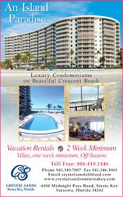 one week siesta key vacation rentals florida vacations