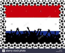 Hollanda Flag Holland Flag Netherlands Bigots Ball Holland Illustration Flag