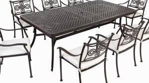 Aluminium Patio Table Extending 14 Seater Cast Aluminium Patio Rectangular Furniture Set