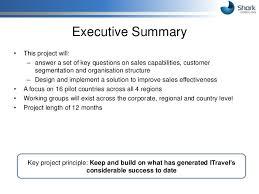 business executive summary template amitdhull co