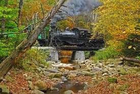 fall foliage brilliant cass scenic railroad