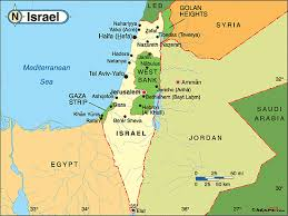 political map of israel israel political map by maps from maps world s largest