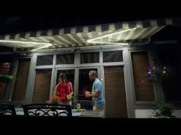 Sunsetter Awning Reviews Sunsetter Awnings Motorized Led Lighting Youtube