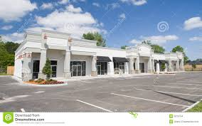 beige toned commercial strip mall stock images image 9210754