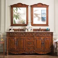 St James Armoire Cherry Finish Bathroom Vanities U0026 Vanity Cabinets Shop The Best