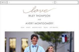 free wedding websites with lasso wedding websites in gold by dietrich elam