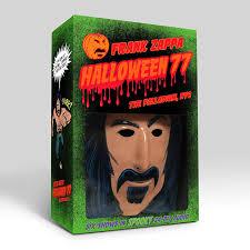 Crusher Halloween Costume Frank Zappa U0027s 1977 Nyc Shows Revisited Halloween 77 Box