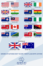 The Grand Union Flag Poster Created By Ausflag Advocating A New Australian Flag