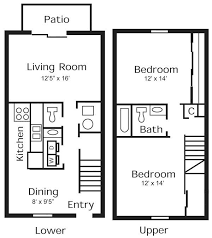 Covington Floor Plan Affordable 1 2 U0026 3 Bedroom Townhomes U0026 Apartments In Indianapolis In