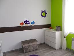 chambre enfant vert chambre bébé thème nature photo 4 9 3504172