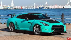 nissan gtr custom mint green ricer nissan gt r u2014 carid com gallery